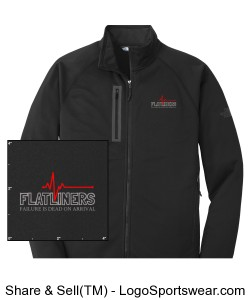 The North Face® Canyon Flats Mens Fleece Jacket Design Zoom